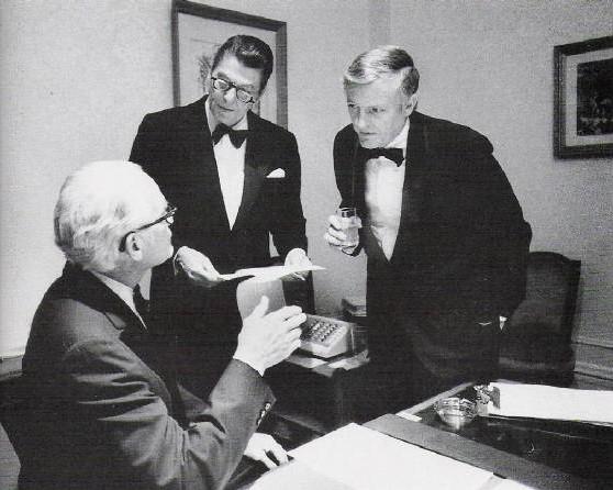 Goldvoter, Regan i Vilijam F. Bakli (William F. Buckley)