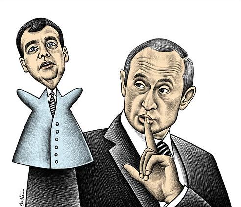 Medvedev, Putin