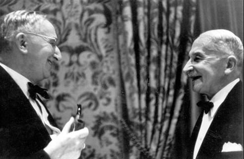 Fridrih fon Hajek i Ludvig fon Mizes