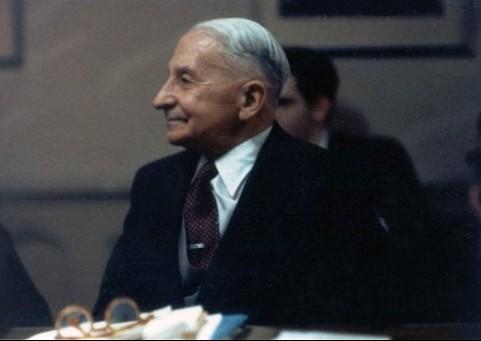 "Mizes na seminarima u ""Gallatin"" kući, 1960. godine"